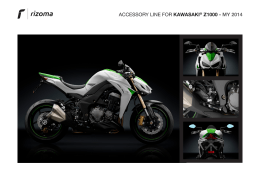 ACCESSORY LINE FOR KAWASAKI® Z1000