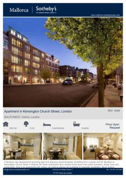 Apartment in Kensington Church Street, London