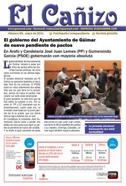 El gobierno del Ayuntamiento de Güímar de nuevo