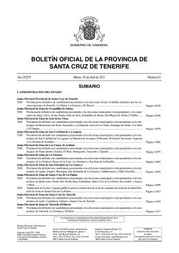 Boletín 066/2011, de fecha 29/4/2011
