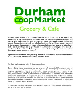 Durham Co-op Market is a community