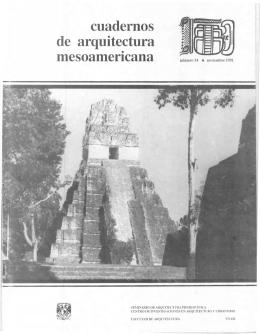 cuadernos mesoamer1cana - Facultad de Arquitectura