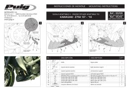 KAWASAKI Z750 `07 - `10 - Motokufry