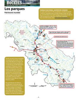 Los parques - Patrimonio mundial (pag. 8-10)