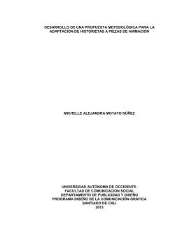 desarrollo de una propuesta metodológica para la adaptación de