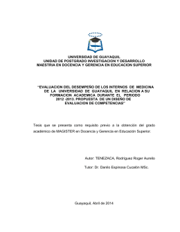 universidad de guayaquil unidad de postgrado investigacion y