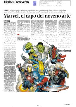 Marvel, el capo del noveno arte