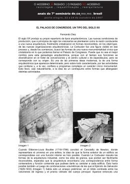 EL PALACIO DE CONGRESOS, UN TIPO DEL SIGLO XX Fernando