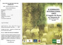 el legado de roma en hispania iii