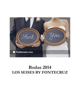 Bodas 2014 - Fontecruz Hoteles