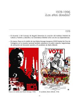 Los años dorados? - Fundación Patrimonio Fílmico Colombiano