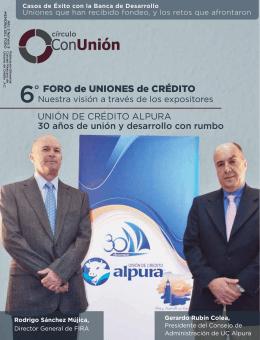 FORO de UNIONES de CRÉDITO