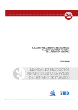 MANUAL DE PRODUCTOS FINANCIEROS