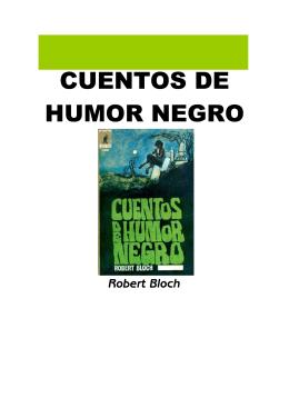 Bloch Robert Cuentos De Humor Negro