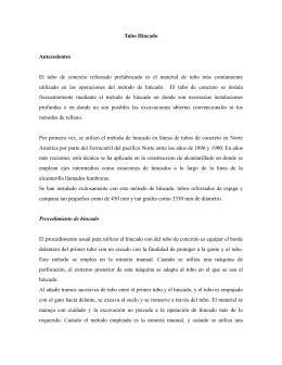 TUBO HINCADO - Tubos de concreto