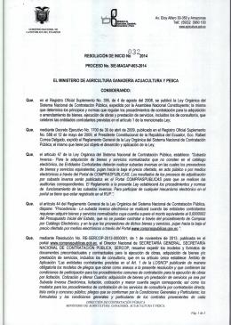 032 - Servicios MAGAP