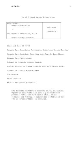 98 TSPR 25 - Rama Judicial