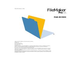 Guía - FileMaker