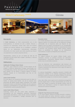 Hotel Carlemany **** Girona