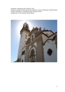 Elementos endogenos del municipio de Candelaria. Turismo
