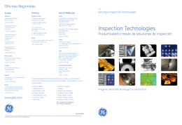 Inspection Technologies - GE Measurement & Control