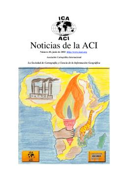 Noticias de la ACI - RedGeomatica