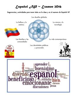 Español AP ~ Examen 2016