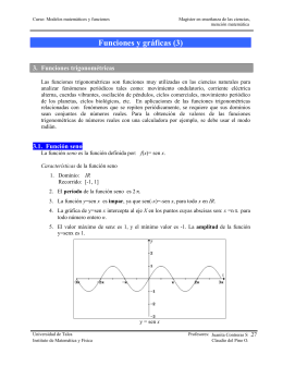 Funciones y gráficas (3) - U
