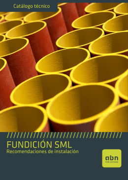fundición sml - ABN Pipe Systems