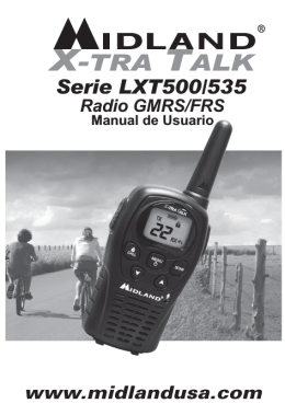 Serie LXT500/535 - Midland Radio Corporation