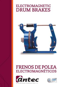 Catálogo Frenos electromagnéticos de polea