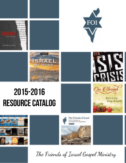 2015-2016 RESOURCE CATALOG