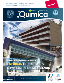 Documento - Facultad de Química
