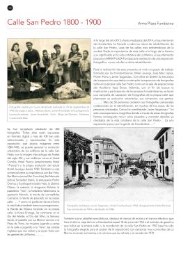 Calle San Pedro 1800 - 1900