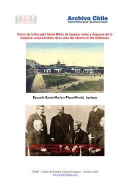 Fotos del 21 de diciembre de 1907