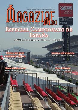 Especial Campeonato de España