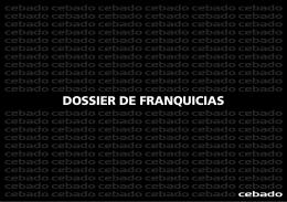 DOSSIER DE FRANQUICIAS