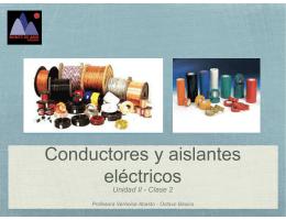 8° C2 - Conductores y aisladores. Formas de electrizar