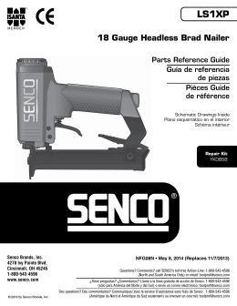 LS1XP 18 Gauge Headless Brad Nailer