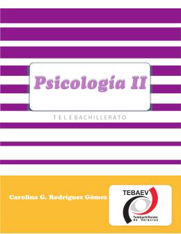 Psicología II Psicología II