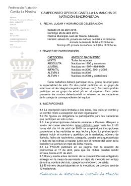 Federación de Natación de Castilla