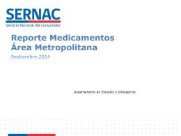 Monitoreo mensual de Medicamentos en Farmacias
