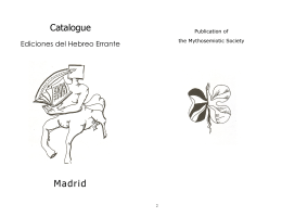 Catalogue - Ediciones Encuentro