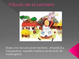 Fábula de la Lechera