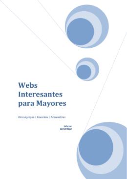 Webs Interesantes para Mayores