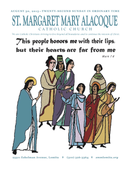 pastor - St. Margaret Mary Alacoque Catholic Church