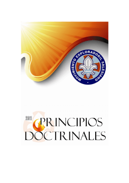 Principios Doctrinales - Colegio y Oratorio San Francisco de Sales