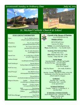St. Michael Catholic Church & School