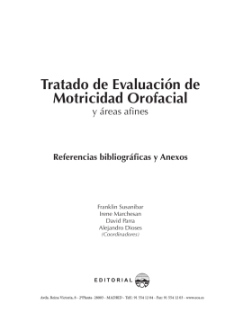 REFERENCIAS TRATADO OROFACIAL.indd