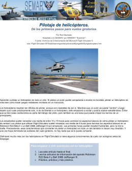 Vuelo Basico en Helicoptero